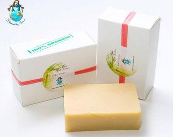 Organic Vanilla & Mandarin Shampoo Bar