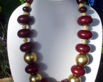 Very Large Dark Future Amber Necklace