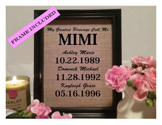 Thoughtful 1 Year Wedding Anniversary Gifts : MIMI, Gift for MIMI, Birthday Gift For Mimi, Gift for MIMI, Mimi Gift ...