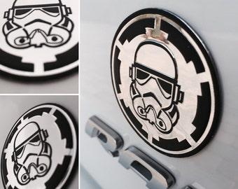 Star Wars Stormtrooper Car Truck Emblem 3 Pack