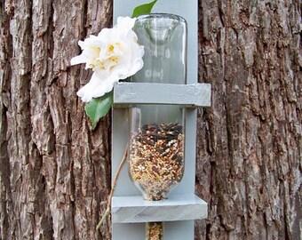wine bottle bird feeder tree feeder bird seed bottles of wine bird feeder