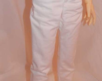 White Twill Pants