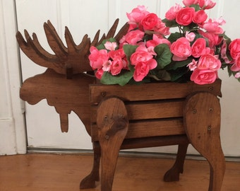 Moose Planter Basket