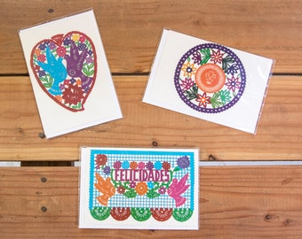 Mexican Print Greeting Cards