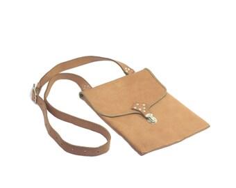Shoulder bag made of genuine leather, Messenger bag