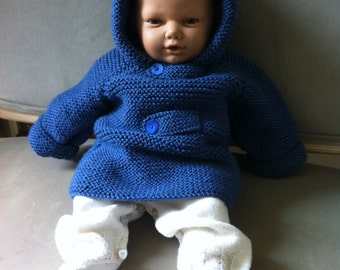 Coat clothing baby fact hand gift birth new born