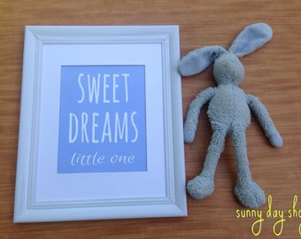 Sweet Dreams Little One Print