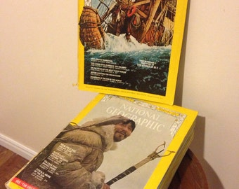 1971 National Geographic Set