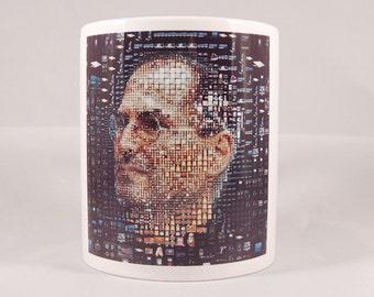 I Love Apple - Steve Jobs - 11oz Ceramic Coffee Cup Mug - Very nice!
