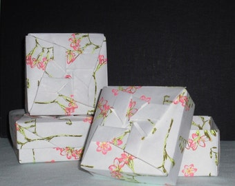 Freesia Origami Box