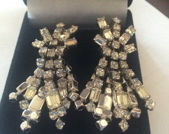 A pair of art deco on dress earrings