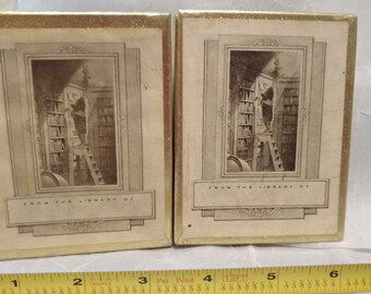 2 Boxes of Vintage Book Plates