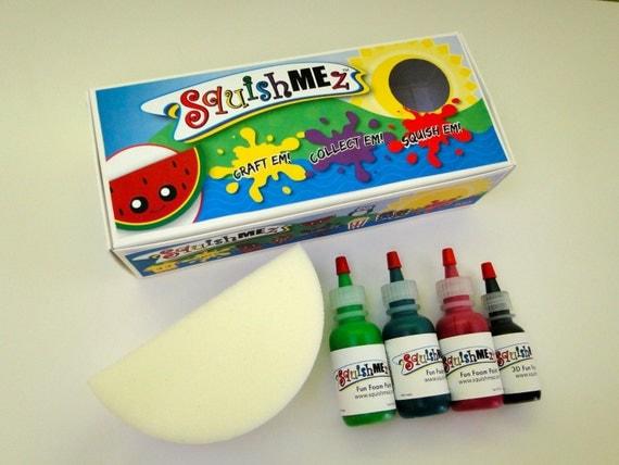 Homemade Squishy Tags : HOMEMADE Squishies Squishy SquishMEz Craft Kit