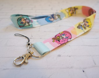 VOCALOID lanyard, anime layard, ID holder, phone accessories, camera neck, japanese anime lanyard, anime girl, key chain