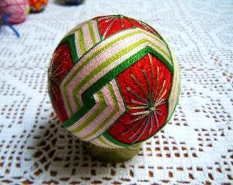 Japanese Temari Ball, Friendship Chain