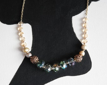 Anthro Inspired Statement Necklace