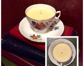 Royal Vale Amber & Sandalwood Soy Candle