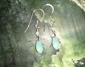 Chrysolite Opal Drops