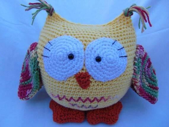 Amigurumi Owl Wings : Amigurumi Owl