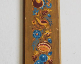 Vintage Yorkraft Wall Plaque Candle Holder