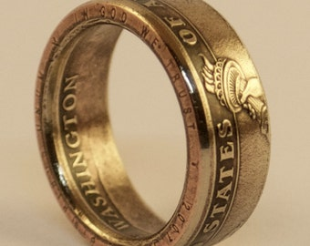 US Presidential Dollar Coin Ring