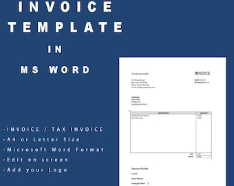 tax invoice template south africa