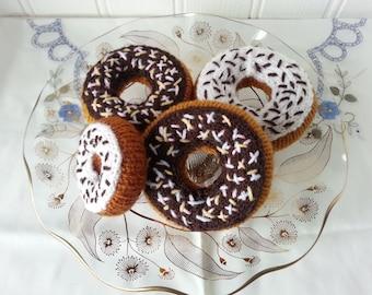 Sprinkle doughnuts
