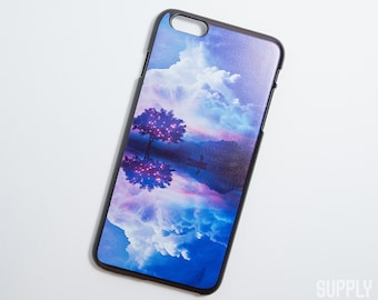 iPhone 6 Plus/6s Plus Case - Fantasy Sky - Galaxy iPhone Case, Art iPhone Case, Fantasy iPhone Case, iPhone 6s Case, Art, Illustration,