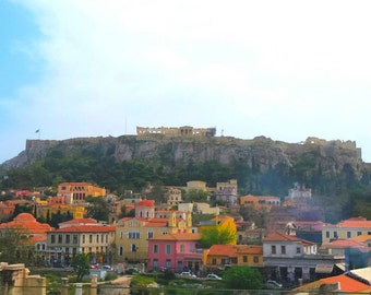 Acropolis/Athens/Greece/Art/View/Photography/Colors/Spring/City