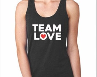 TeamLove womans tank tops