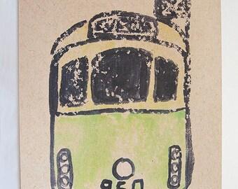 Melbourne Tram Postcard