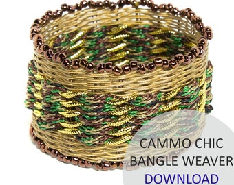 Cammo Chic Bangle Weaver Project Download