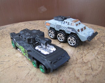 Hot Wheels Military Toy Truck, Invader Toy, Matchbox Tot Tank, Toy Truck, Vintage Toy