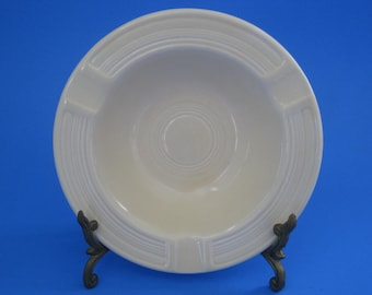 Vintage Fiesta Ashtray Ivory