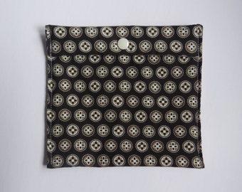 Snack bag - Medium - buttons - reusable - Zero waste