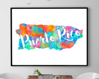 Puerto rico etsy for Acanthus decoration puerto rico