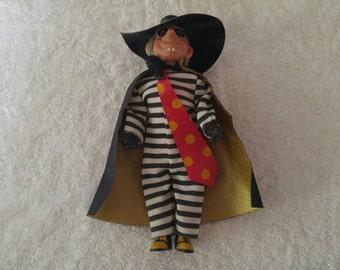 McDonalds Hamburglar 1976 Remco Doll w/Free Shipping