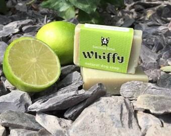 Natural dog soap - Luscious Lime - shampoo bar