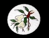 "Blue Ridge JUBILEE FRUITS Pears (Salad Plate Series) 8.25"" Plate Handpainted Pottery Southern Potteries Dinnerware (B20) 5503"