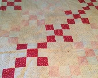 Antique childs size quilt