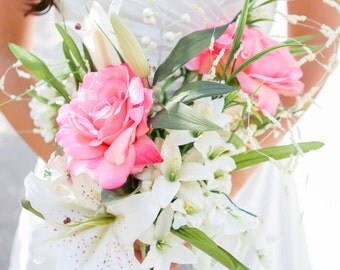 Custom Silk Bridal Bouquets - Made to Order