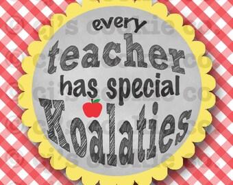 Teacher Koala Tags