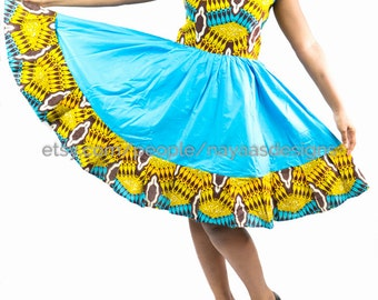 African Print Dress; African Clothing; Women African Dress; African Print; African