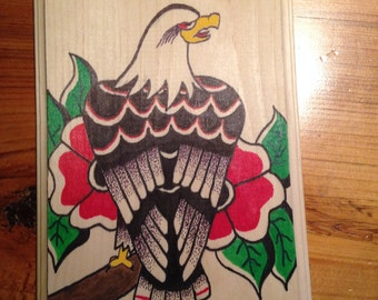 Traditional Eagle Plaque
