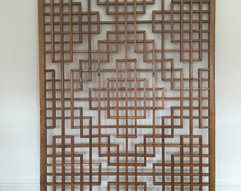 Architectural salvage antique Chinese screens window panels