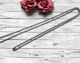 Coinskette/stainless steel chain 80cm