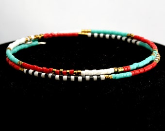 Boho Style Friendship Wrap Bracelet