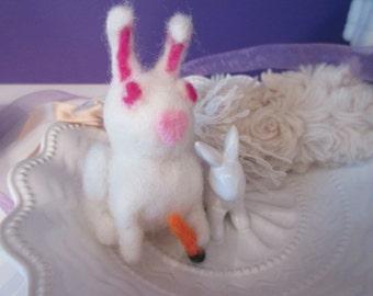 Kawaii White Rabbit