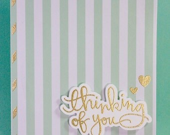 Handmade Cards - Sympathy Cards - Thinking of You