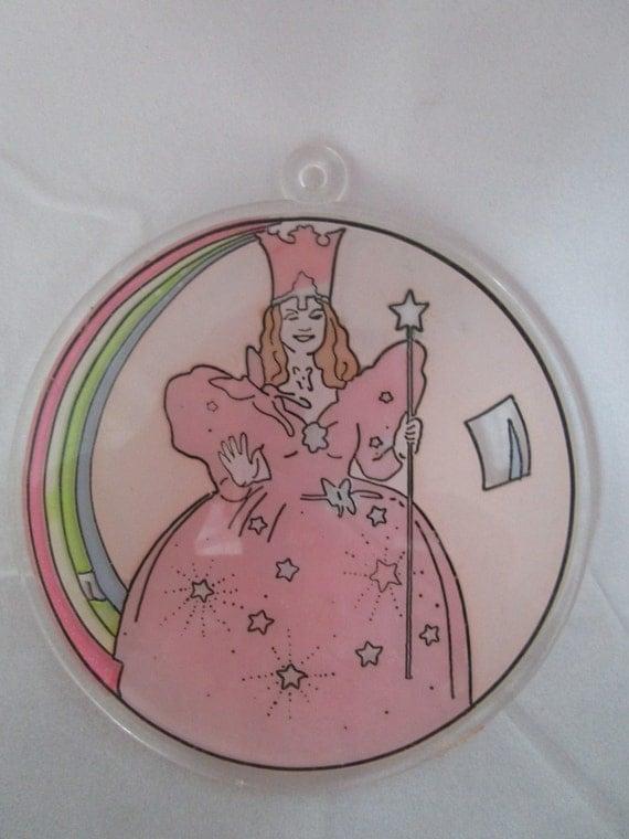 Glinda of Oz Suncatcher or holiday ornament